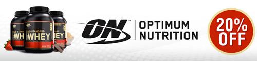Optimum Nutrition週替割引セール
