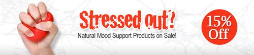ストレスと気分改善カテゴリ全商品の15%割引セール開催