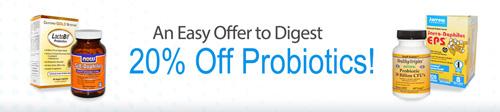 乳酸菌サプリ・カテゴリ全商品20%割引セール
