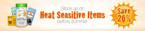 夏季販売停止全商品の20%割引セール