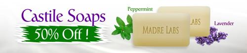 MadreLabsカスチール石鹸セール