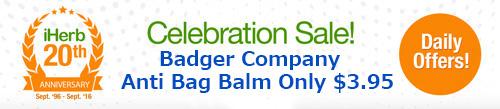 Badger Companyの虫除け軟膏(大サイズ)セール