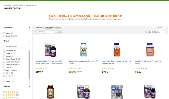 風邪・インフルエンザ対策製品セール
